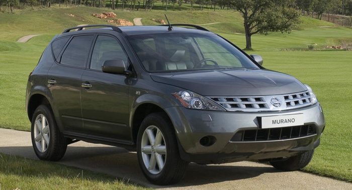 Nissan Murano best used SUV under 10000