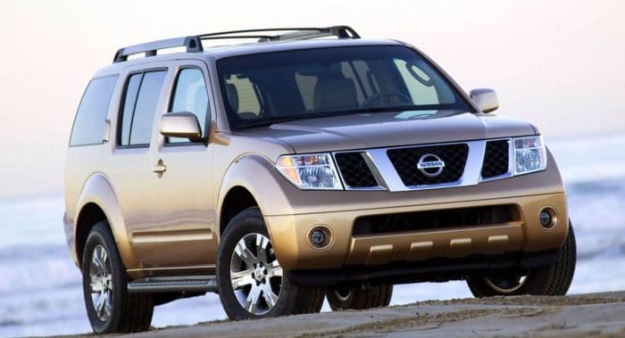 2005 Nissan Pathfinder best used SUV under 10000