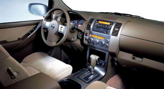 2005 Nissan Pathfinder Interior