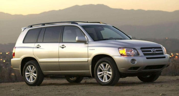 Toyota Highlander best used SUV under 10000