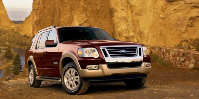Ford Explorer best used SUV under 10000