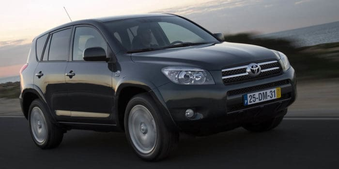 Toyota RAV4 best used SUV under 10000