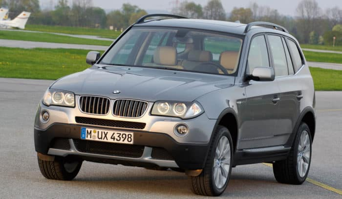 BMW X3 best used SUV under 10000