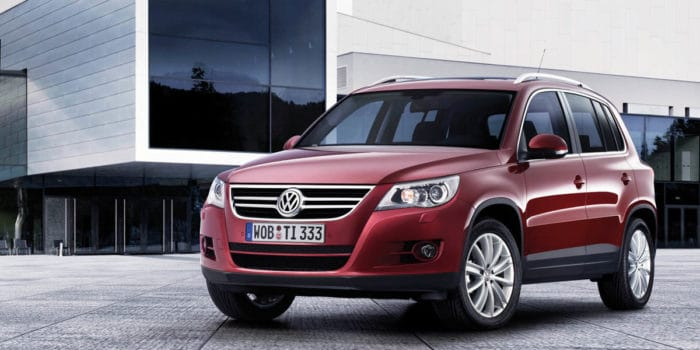 2009 Volkswagen Tiguan best used SUV under 10000