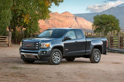 2017 GMC Canyon SL extended cab
