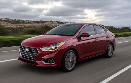 2018 Hyundai Accent - new cars under $15,000