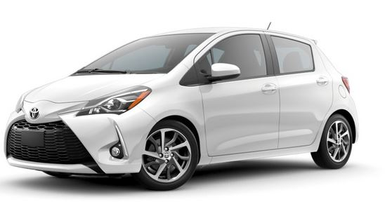 2018 Toyota Yaris front side view