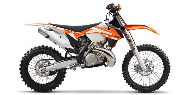 250cc Dirt Bike - KTM 250 XC