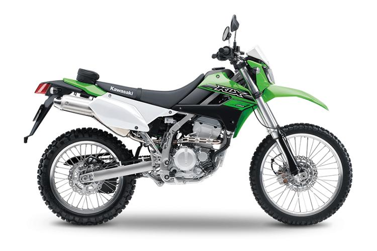 Kawasaki KLX250 Side View