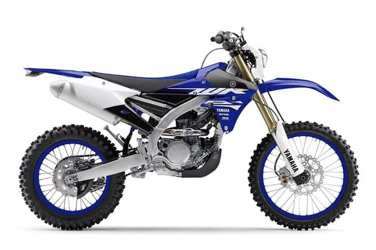 Yamaha WR250F Side View