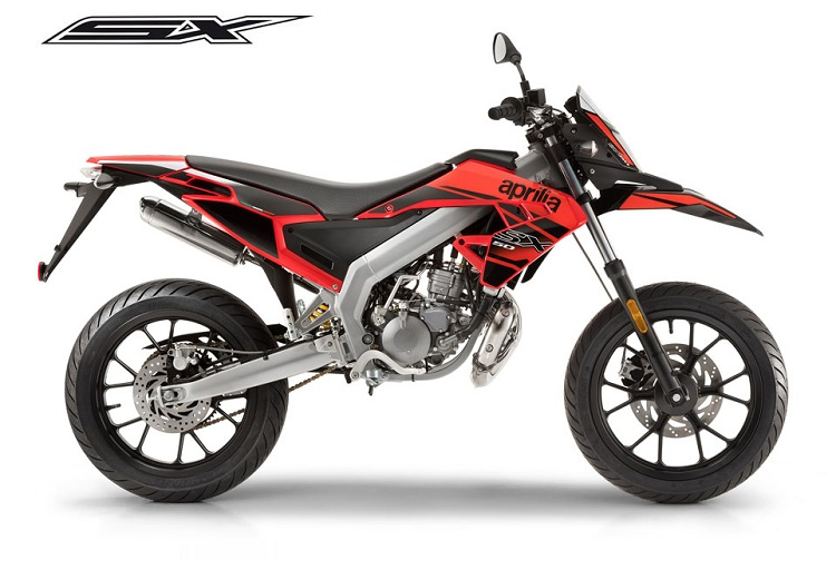 50cc Motorcycle - Aprilia SX 50 Red