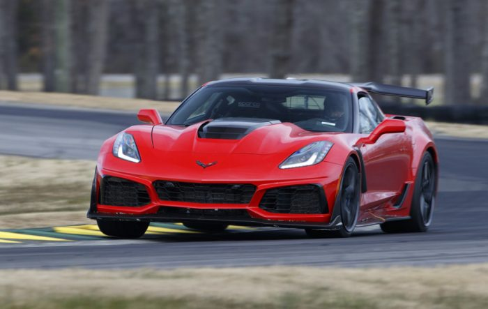 Corvette ZR1 Front 3/4