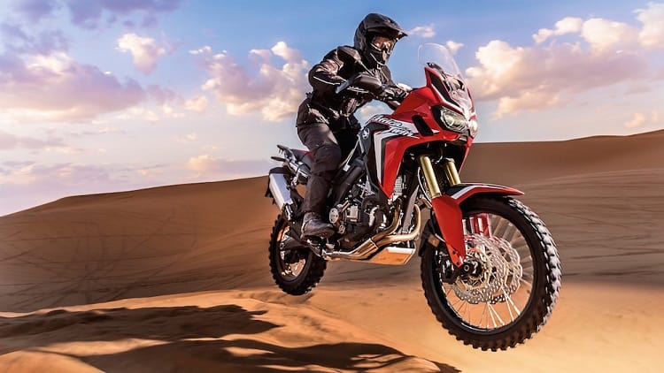 Best Dual Sport Motorcycles - Honda CRF1000L Africa Twin Ride