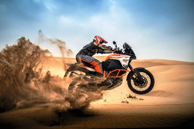 Dual Sport Motorcycles - KTM Super Adventure 1290 R Off-Road