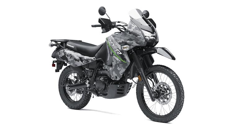Kawasaki KLR650R Front Side View