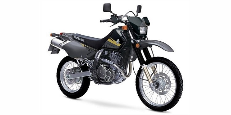 Suzuki DR650S Front Side View