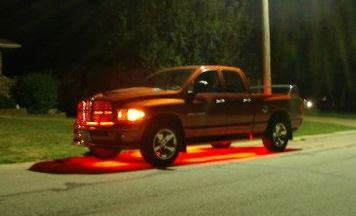 Excessive LEDs on a Dodge Ram Truck