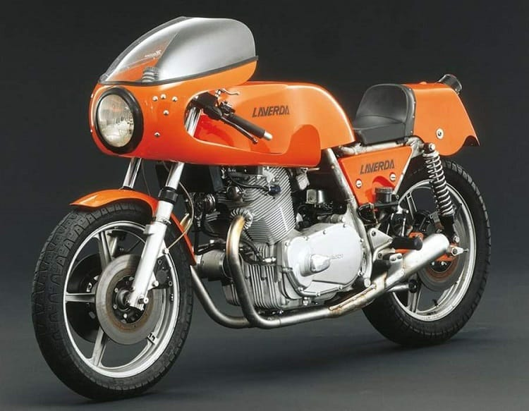 Italian Motorcycles - Laverda 750 SFC Racer