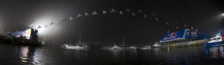 Best Motorcycle Stunts - Robbie Maddison San Diego Bay
