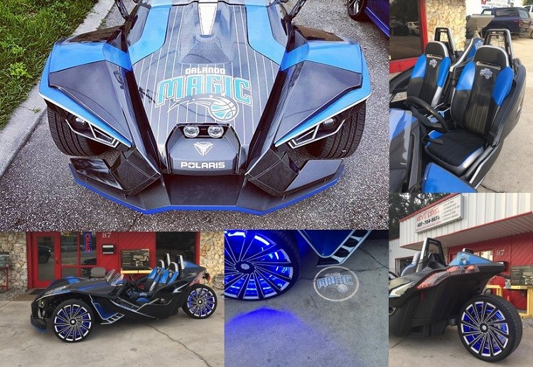Polaris Slingshot - Orlando Magic