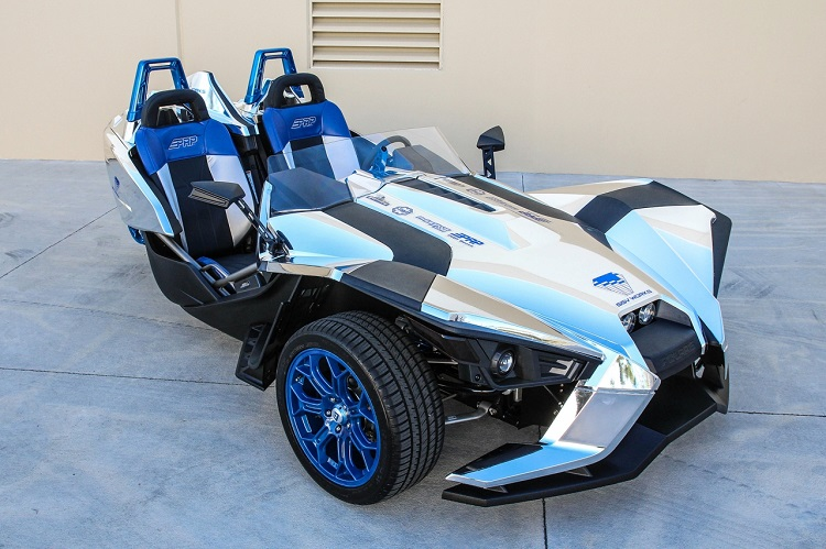 Polaris Slingshot - Silver Surfer SSV Works