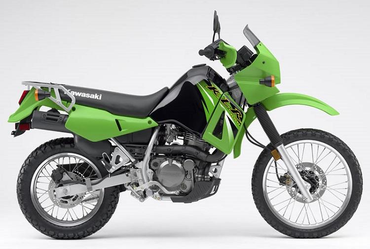 Scrambler Motorcycle - Kawasaki KLR650