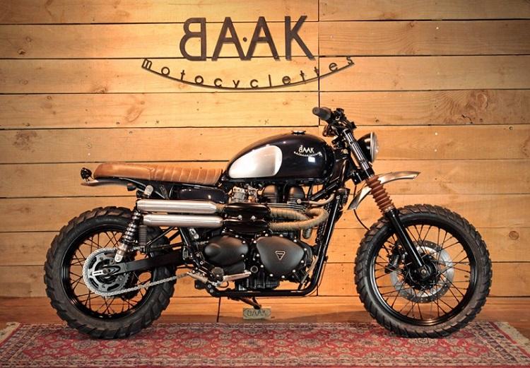 Scrambler Motorcycle - Saddle