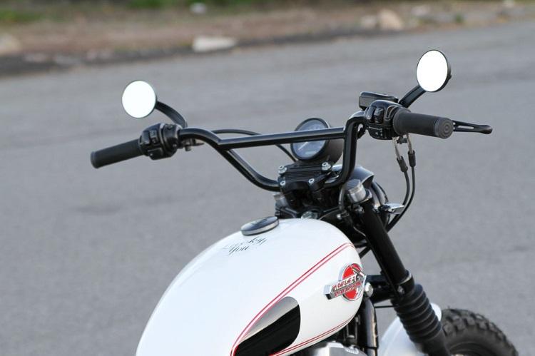Scrambler Motorcycle - Ergonomics