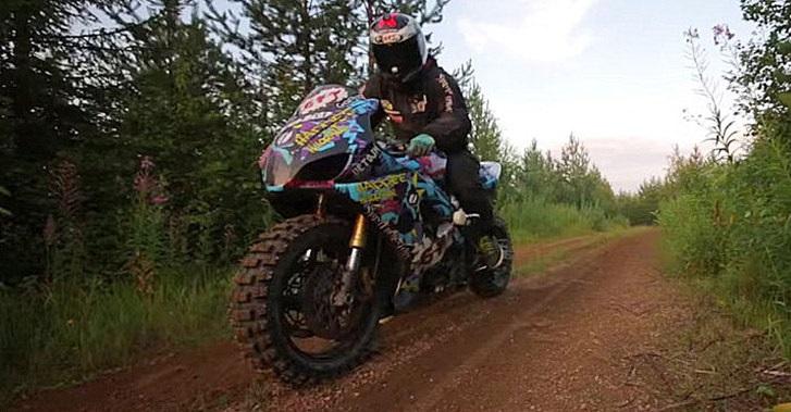 Scrambler Motorcycle - Unorthodox