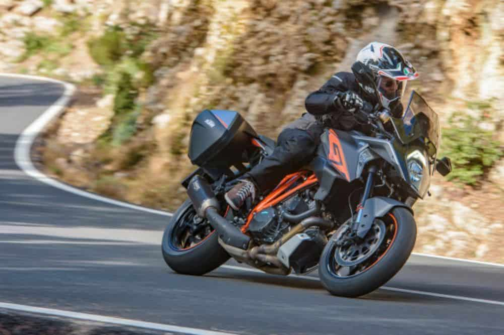 Best Sport Touring Motorcycles - KTM 1