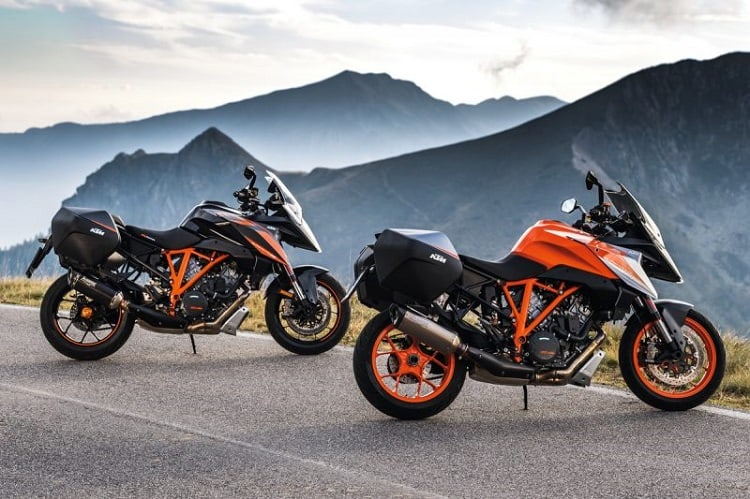 Best Sport Touring Motorcycles - KTM 2