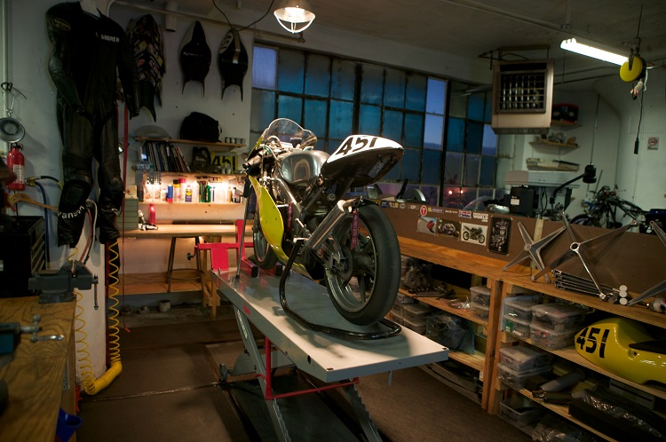 Street Legal Dirt Bike - Garage