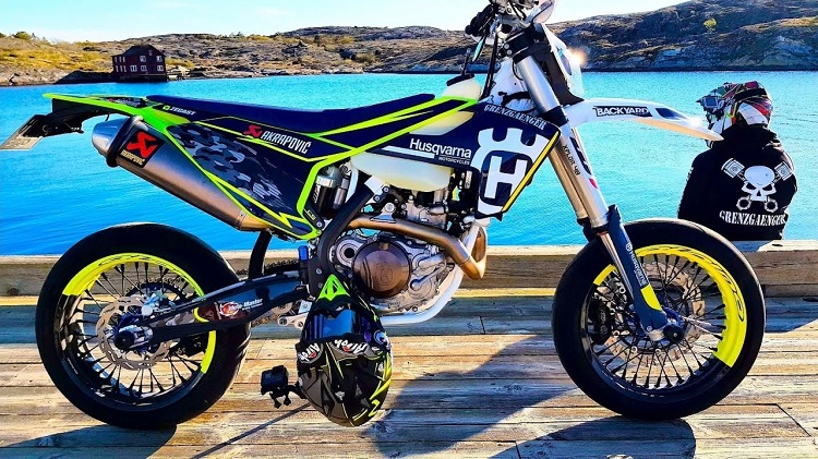 Husqvarna Dirt Bike Street Legal