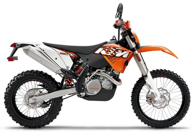 Street Legal Dirt Bike - KTM