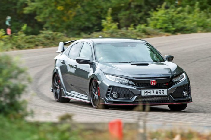 Civic Type R Front 3/4