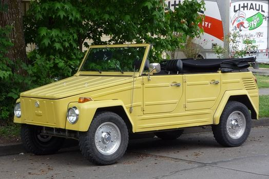 VW type 181 - The Thing