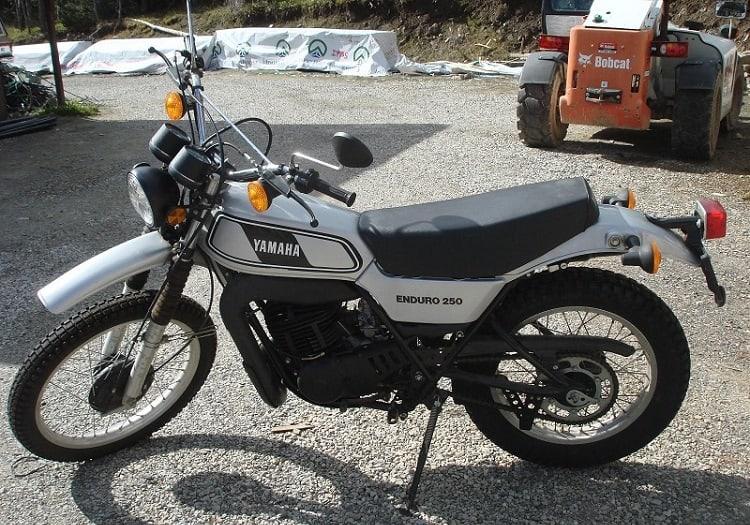 Yamaha Dirt Bikes - 1978 Yamaha DT250