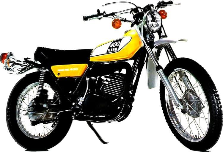 Yamaha Dirt Bikes - Yamaha DT400 Enduro