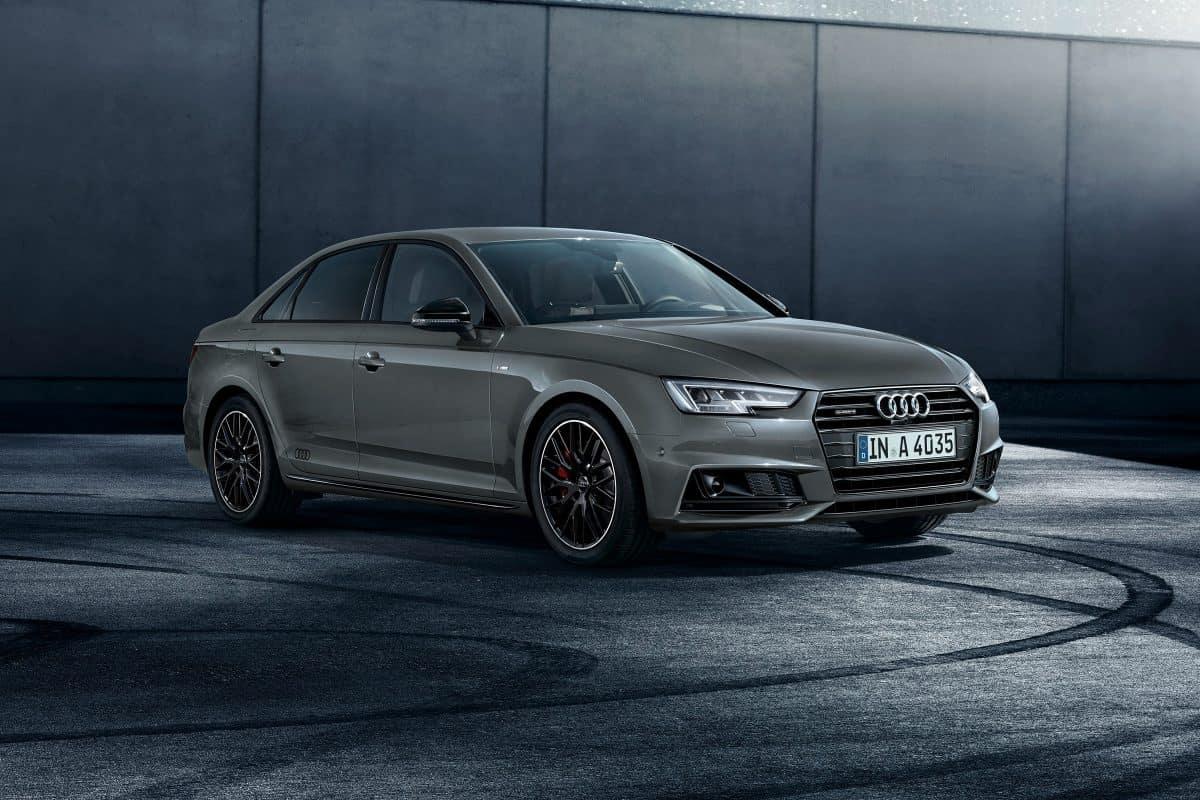 Audi A4 3/4 view