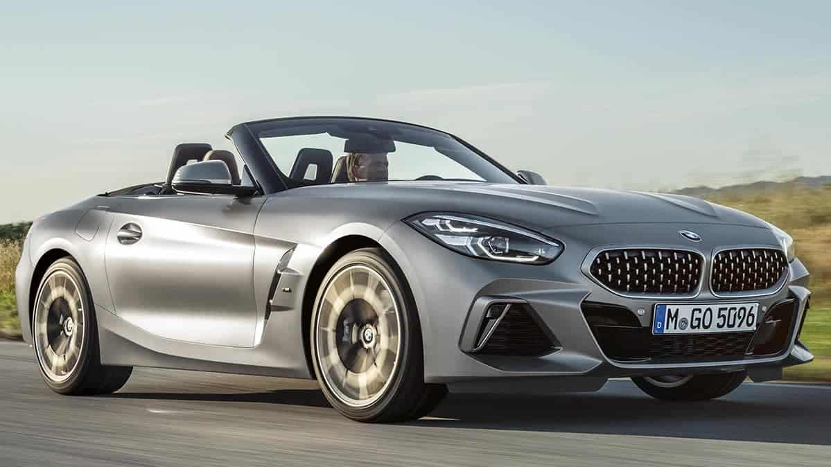 2019 BMW Lineup - BMW Z4 is resurrected for MY 2019