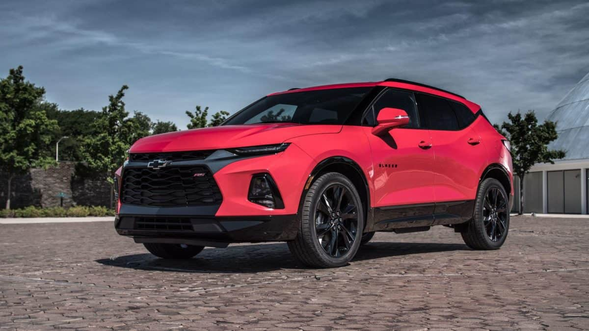 2019 Chevy Lineup - 2019 Chevy Blazer front 3/4 view