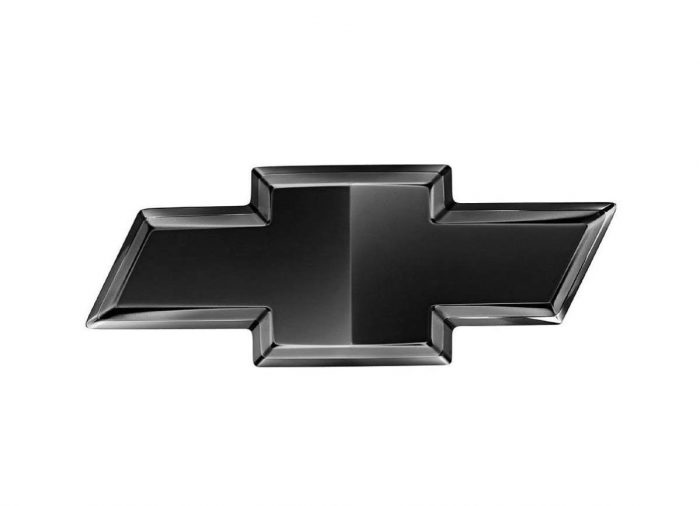Chevy Emblem Black