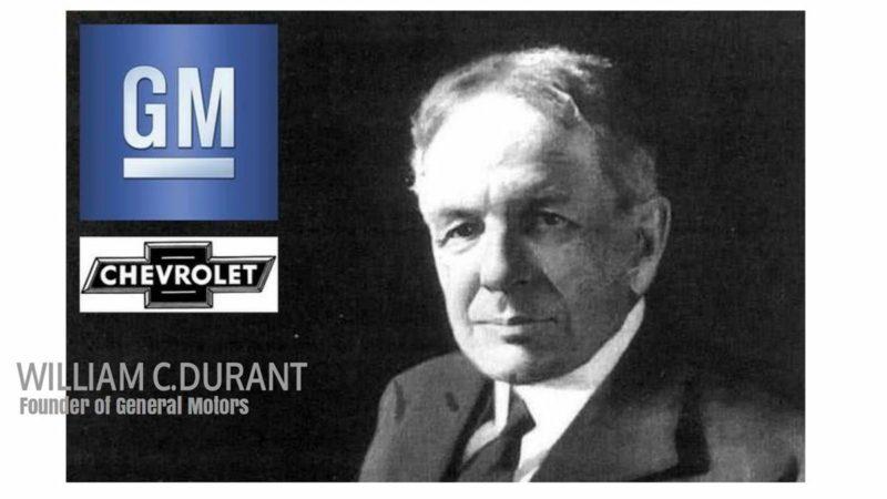 Chevy Emblem Designer William C Durant