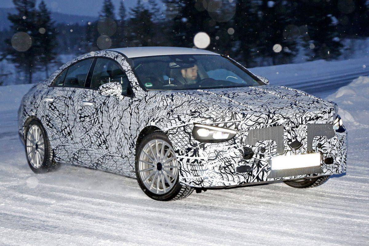 Mercedes-Benz CLA Class test mule