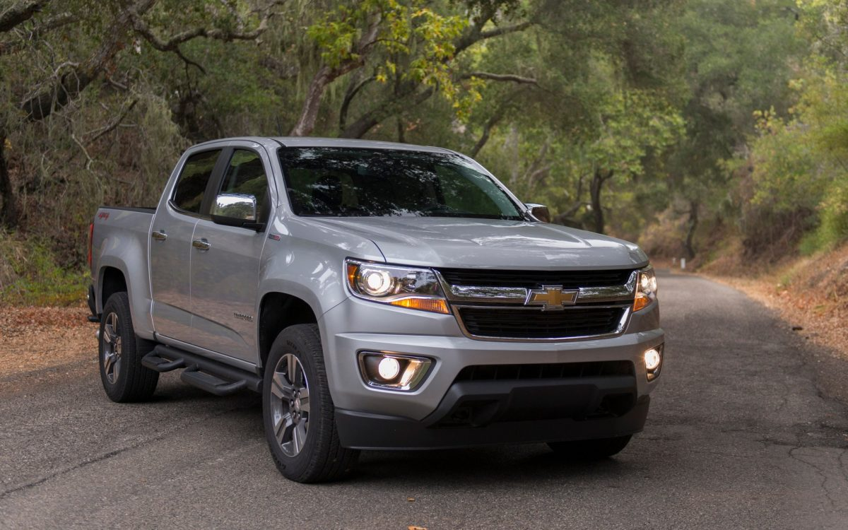 2019 Chevy Lineup - Chevrolet Colorado front 3/4 view