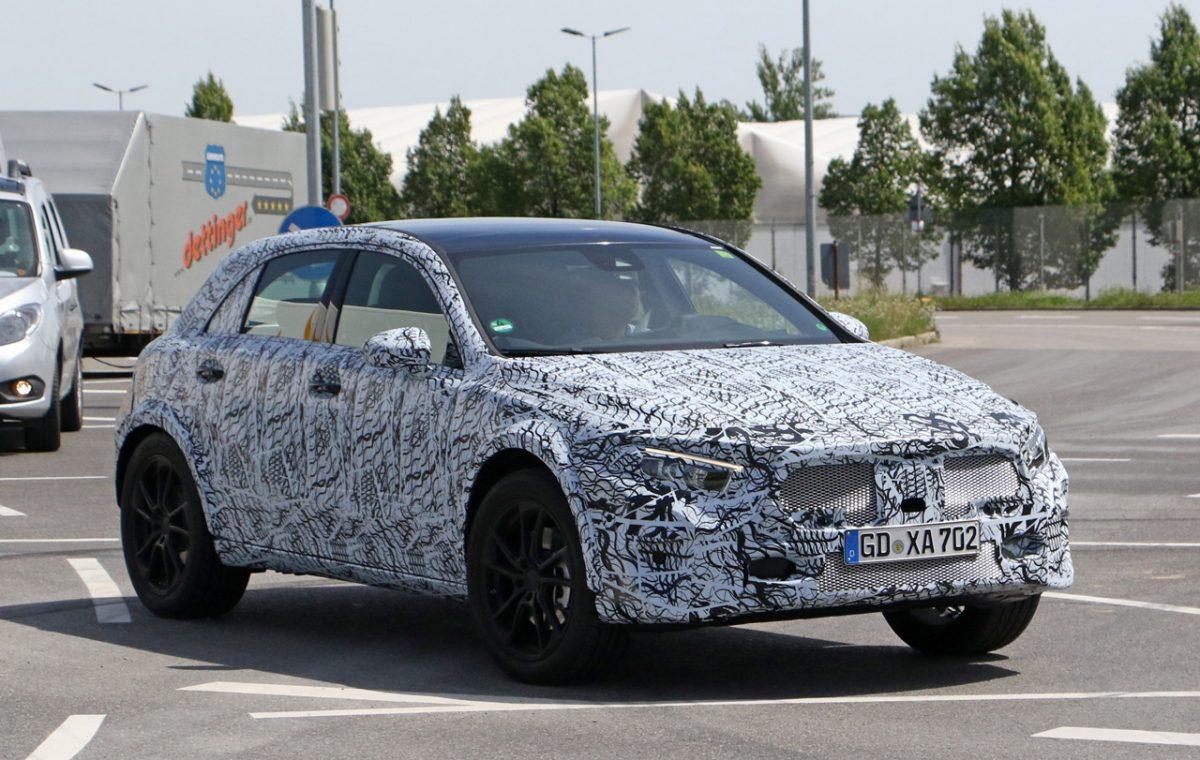 Mercedes-Benz GLA Class test mule