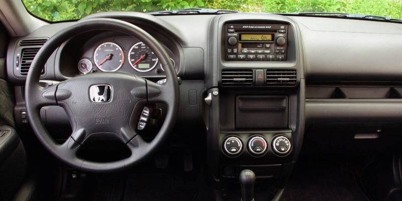 2002-2006 Honda CR-V Interior