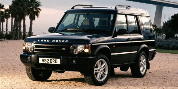 best family SUV land rover discovery