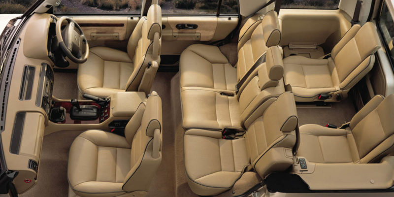 Land Rover Discovery Series II Interior