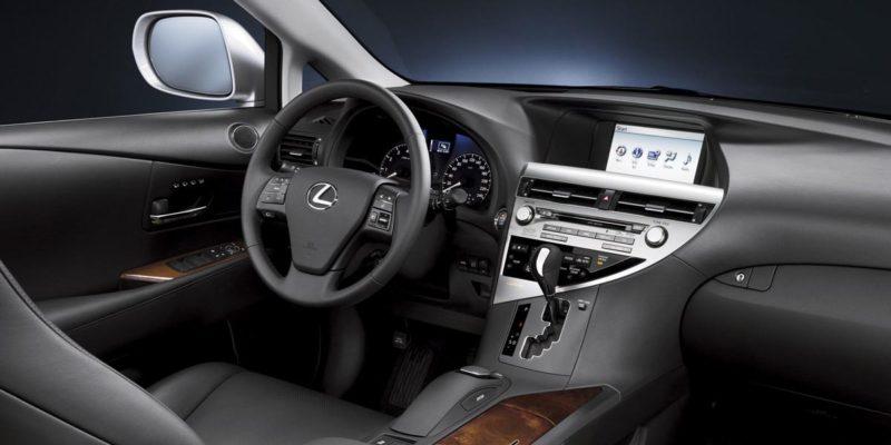 Lexus RX350 Interior